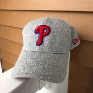 Philadelphia Phillies New Era Gray 39THIRTY Hat